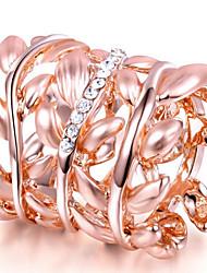 Жен. Кольца на вторую фалангу Классические кольца СтразыБазовый дизайн Мода По заказу покупателя Хип-хоп Rock Симпатичные Стиль Pоскошные