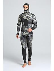MYLEDI Men's 5mm Wetsuits Full Wetsuit Waterproof Thermal / Warm Wearable YKK Zipper Nylon Neoprene Diving Suit Diving Suits-Swimming