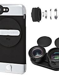 Ztylus 2x телеобъектив объектив для смартфонов 0,63x широкий угол для iphone6 / 6s / 6plus / 6s plus