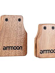 grand ammoon&Caisson moyen 2pcs cajon accessoires batterie compagnon compagnon pour la percussion à la main