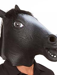 halloween maquillage de caoutchouc effilé crin de tête de cheval halloween masquerade cosplay party costume costume
