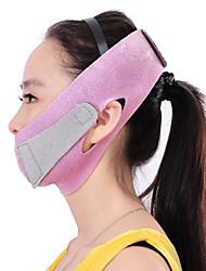フェイスマスク薄い顔リフト包帯ケア補正ベルトスリミングバンド顔シェイパーマッサージツールを減らすダブル顎