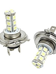 1 Pair Sagitar Special Headlamp H4 DCM 5050 3W High Beam Low Beam White