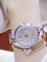 Mujer Reloj de Pulsera Reloj Pulsera Reloj creativo único Reloj Casual Simulado Diamante Reloj Reloj de Cristal Pavé Chino Cuarzo