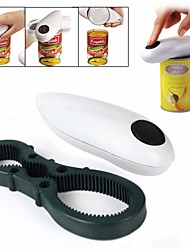 Automatic Can Opener One Touch Jar Openers Kitchen Helper Tool 2 in 1 Multifunction Opener