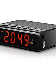 MX-19 Radio Despertador Tiempo de dormir Bluetooth Tarjeta TFWorld ReceiverNegro