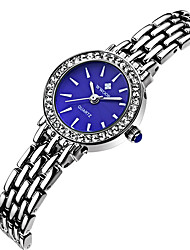 WWOOR Women's Fashion Casual Unique Luxury Stainless Steel Quartz Ladies Watches Clock Relogio Masculino Hodinky Hour Handmade Watch