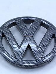 Автомобильная эмблема vw gti / r20 углеродное волокно