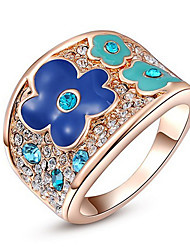 Band Rings Settings Ring Luxury Euramerican Fashion Elegant Noble Flower Birthday Wedding Movie Gift Jewelry