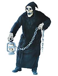 Costumes de Cosplay Squelette/Crâne Zombie Cosplay Fête / Célébration Déguisement d'Halloween Rétro Collant Gants Masque Halloween