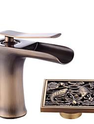 Mittellage Keramisches Ventil Waschbecken Wasserhahn