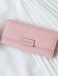 Women's wallet RFID security magnetically purse large capacity thirty percent hand bag buckles his wallet