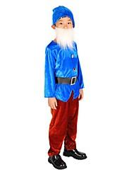 Costumes de Cosplay Bal Masqué Conte de Fée Cosplay Fête / Célébration Déguisement d'Halloween Rose Bleu Jaune RétroHauts Pantalon