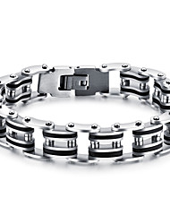 Personality stainless steel men punk hot fashion classic style