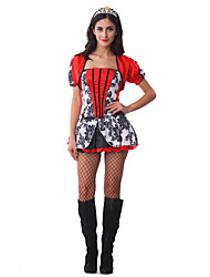 Costumes de Cosplay Bal Masqué Princesse Serveur / Serveuse Cosplay Fête / Célébration Déguisement d'Halloween Autres Rétro RobesCarnaval