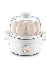 Eierkocher Single Eggboilers Neuheiten für die Küche 220VMultifunktion Licht und Bequem Niedlich Geräuscharm Licht-Spannungsanzeige
