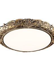 Lampada assorbente in stile europeo lampada da camera di american jane o lampada da tavolo vintage rotonda lampada dolce romantiche