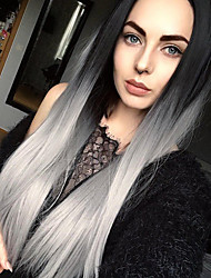Uniwigs Futura Synthetic Lace Front Wig Ombre Color Straight Wig