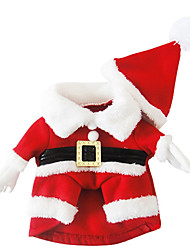 Dog Costume Dog Clothes Cosplay Christmas Ruby