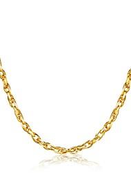 Муж. Ожерелья-бархатки Бижутерия Геометрической формы Позолота Rock Готика Pоскошные ювелирные изделия Классика бижутерия Мода Бижутерия