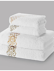 Bath Towel Set,Embroidery High Quality 100% Cotton Towel