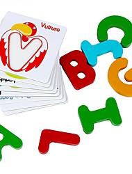 когнитивная карта для обучения в раннем детстве парная деревянная игрушка блока jj7701-0533