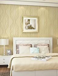 Estampado Fondo de pantalla Para el hogar Moderno Revestimiento de pared , Tela no tejida Material Auto Adhesivos papel pintado ,