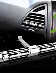 purificador del aire del coche del acero inoxidable del perfume de la rejilla del enchufe de aire del coche