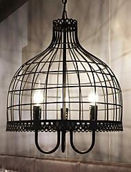 Américain créatif chandelier lustre industriel vent rétablissement anciennes façades net en fer forgé café restaurant magasin de vêtements