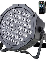 Звук u'king® 72w 36pcs rgb светодиодная подсветка сцены dmx512 звуковой сигнал для dj ktv xmas и т.д 1шт