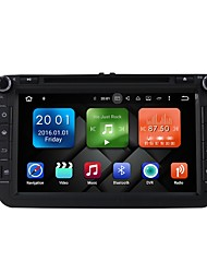 8-Zoll-Quad-Core Android 6.0 Auto Multimedia-DVD-Player eingebaute WiFi&3g ex-tv dab für vw magotan 2007-2011 golf 5/6 caddy polo v 6r