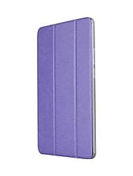 caixa de couro sólido de três prateleiras sólidas com suporte para microfone de mídia t3 de huawei tablet pc de 8,0 polegadas