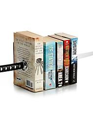 japanese cretive katana bookends книжная полка канцелярские принадлежности со скрытым кронштейном для волшебной книги / боевики