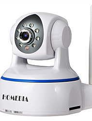 caméra ip homedia® 1080p 2.0mp sans fil p2p onvif ptz sd nuit vue mobile (Android et ios)