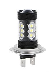 2pcs voiture modèle d'éclairage original 80w led phare ampoule h1 h3 h4 h7 h8 h9 h10 h11 9005 9006