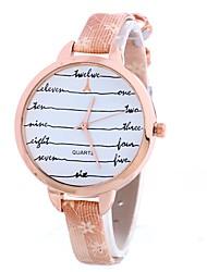 Жен. Нарядные часы Модные часы Наручные часы Китайский Кварцевый PU Группа С подвесками Элегантные часы Повседневная Черный Белый Синий