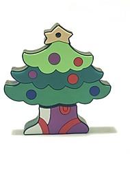 4gb рождество usb флэш-накопитель мультфильм рождественская елка рождественский подарок usb 2.0