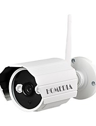 HOMEDIA® 720P IP Camera ONVIF Wifi Wireless IR-Cut Outdoor Waterproof Infrared Night Vision Motion Detect