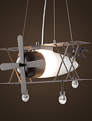 Le vent industriel américain rétablit les manières anciennes est l'avion tête unique droplight créatif personnalité restaurants internet