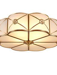 luz de cúpula de cobre inteira americana ao redor do quarto luz contratada restaurantes europeus varanda varanda lâmpadas de luz de cobre