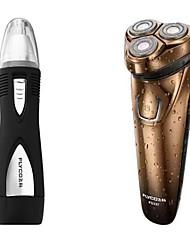 FLYCO FS337 Electric Shaver Razor Nose Device 100240V Washable Quick Charge LED Charging Indicator