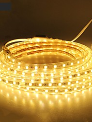 18M/1PCS  220V 5050 LED Flexible Tape Rope Strip Light Xmas Outdoor Waterproof   Garden outdoor lightingEU Plug EU