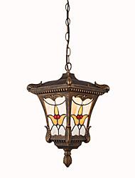 Pendentif en plein air européen lampe de jardin imperméable à l'eau lampe extérieure d'un arbre à raisin balcon lampe couloir couloir