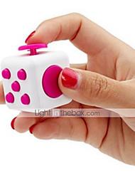 branco fidget cubo dedo mão superior magia espremer enigma cube trabalho classe casa edc adicionar adhd anti ansiedade stress reliever 1pc