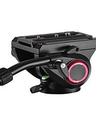 andoer tp-65 алюминиевый сплав флюид гидравлическая головка трехмерная головка штатива 360 панорамная съемка для съемки и записи видео m