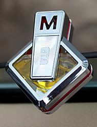 Parabens da grade da tomada do ar do carro limão do oceano lavanda automotriz purificador do ar