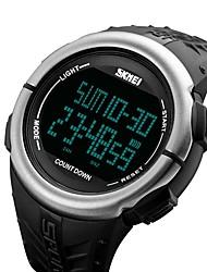 yy1273smartwatch prueba de agua / resistente al agua larga espera multifunción cronómetro despertador cronógrafo calendario dual zonas