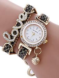 Women's Kid's Dress Watch Fashion Watch Simulated Diamond Watch Bracelet Watch Unique Creative Watch Chinese Quartz Water Resistant /