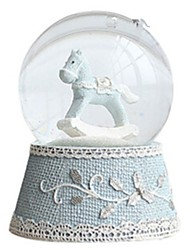 Music Box Circular Crystal
