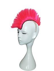 Mujer Pelucas sintéticas Sin Tapa Largo Liso Sandía Roja Peluca de cosplay Peluca drag Peluca de fiesta Peluca de celebridades Peluca de